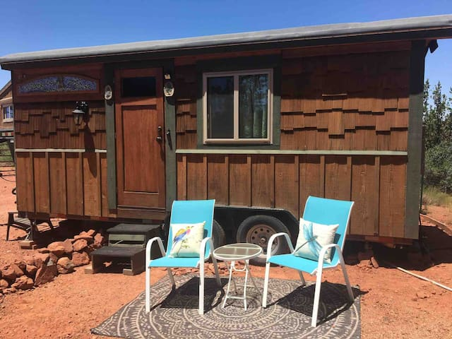 SEDONA'S MOST VISITED ABNB! Tiny Home, mnt forest!