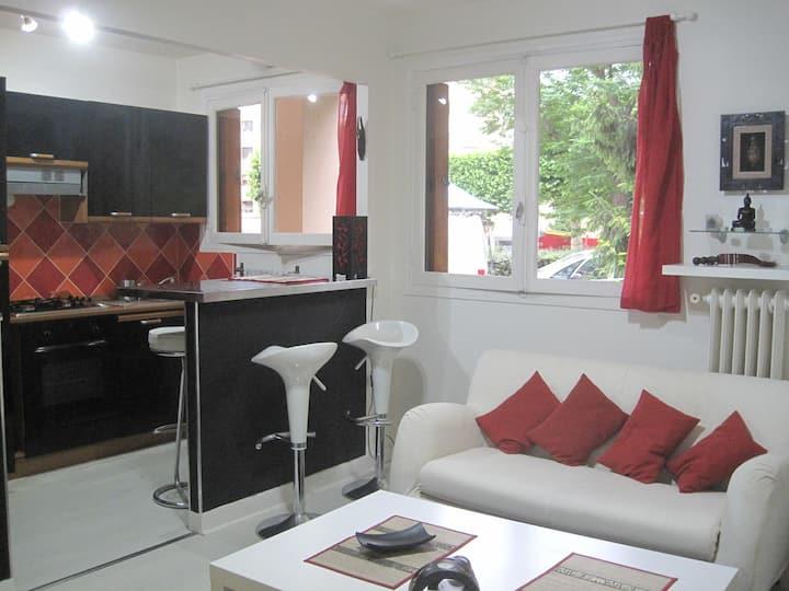 Nice apartment east of Paris