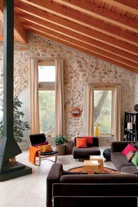 Salón. Imagen cedida por Casa y Campo