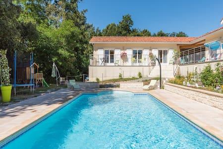 Chez Kty et Dd - chambre orange - Le Verdon-sur-Mer
