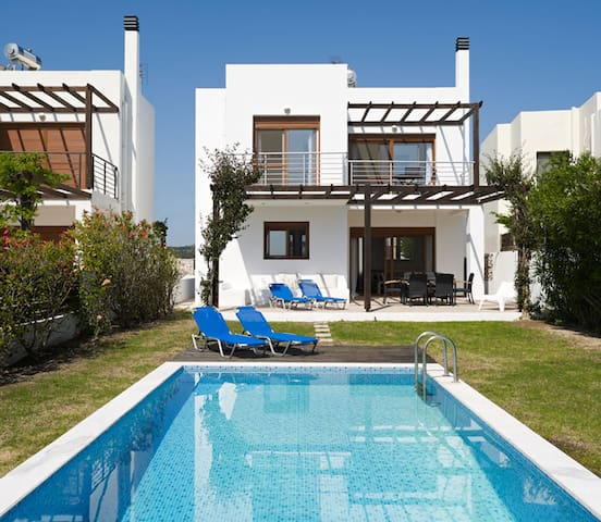 Luxury Villa Nisso with Private Pool & Sea Views - Afantou - Villa
