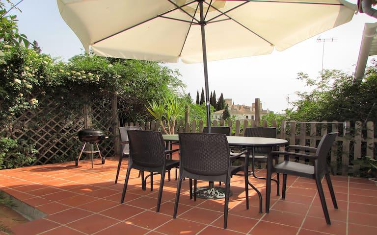 Granada house-garden-Alhambra views - Granada - Dom