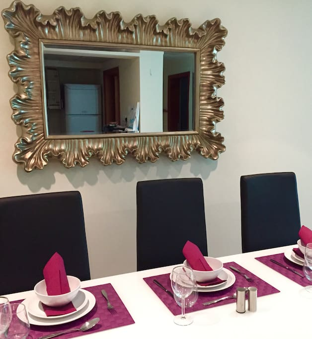Dinning Table all set
