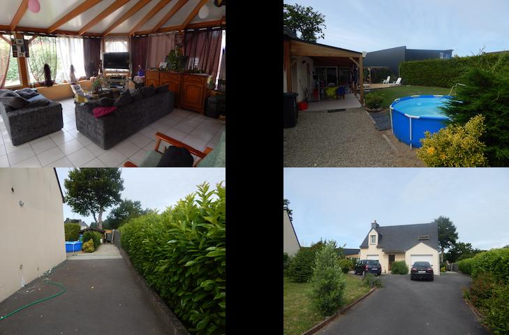 Maison conviviale - Monterblanc - Hus