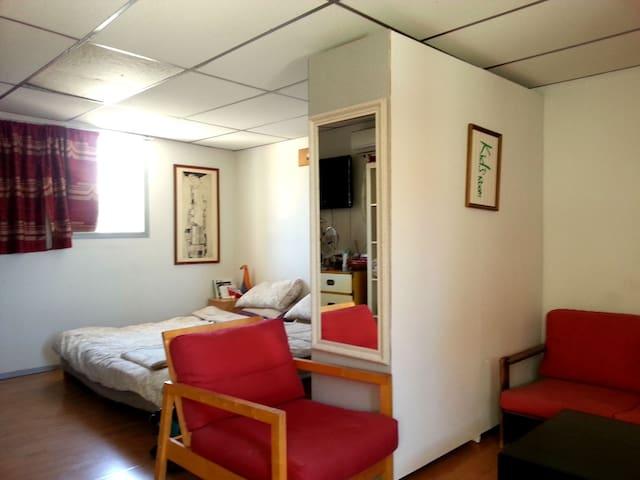 Private room in a loft