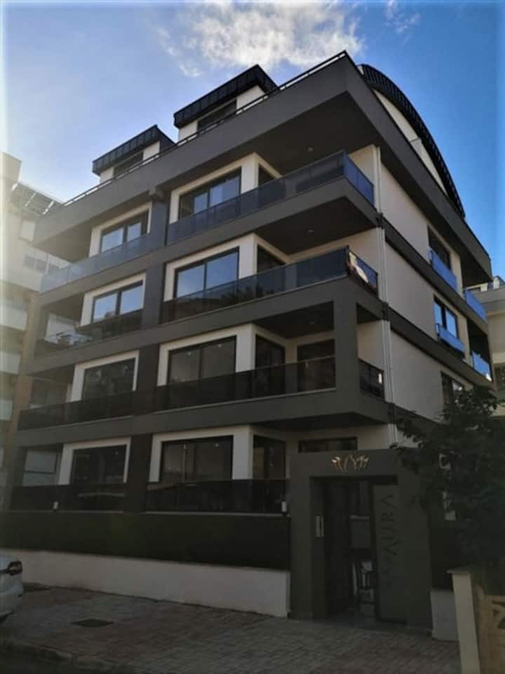 1+1 Appartement just 80 meters to Kleopatra Beach.