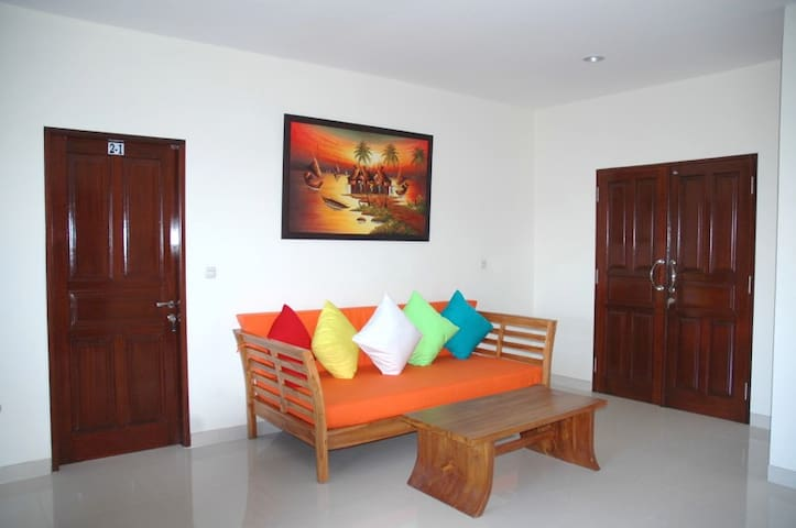 Apartment 3 rooms - 2 bedrooms - 1st Floor