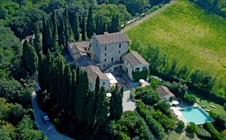 Castello di Orgiale Charme Residenz - Castelnuovo Berardenga - Apartemen