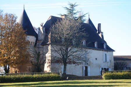 Chambre romantique ds chateau XVIè - Trélissac - Slott
