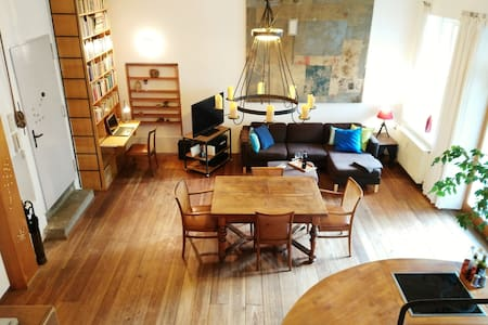 Artsy Loft in best location incl parking space - Nürnberg