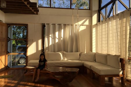 white airy house - Silang