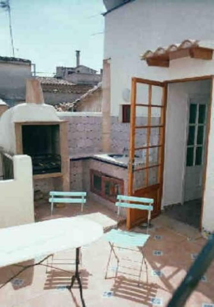 Rooftop with terrace