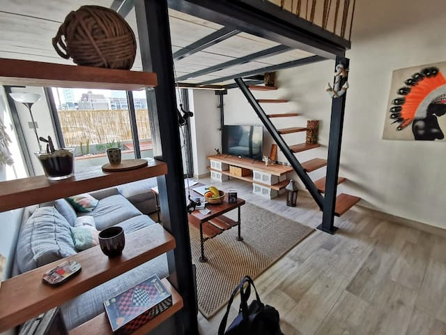 Modern stylish Loft - Service Apartment