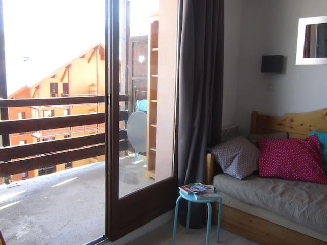 séjour & balcon