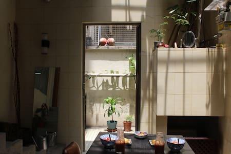 Winter at cozy loft with garden | Central HK - Hong Kong - Apartment