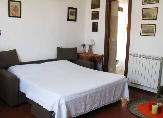 Cozy double room with kitchen - Castel Vittorio