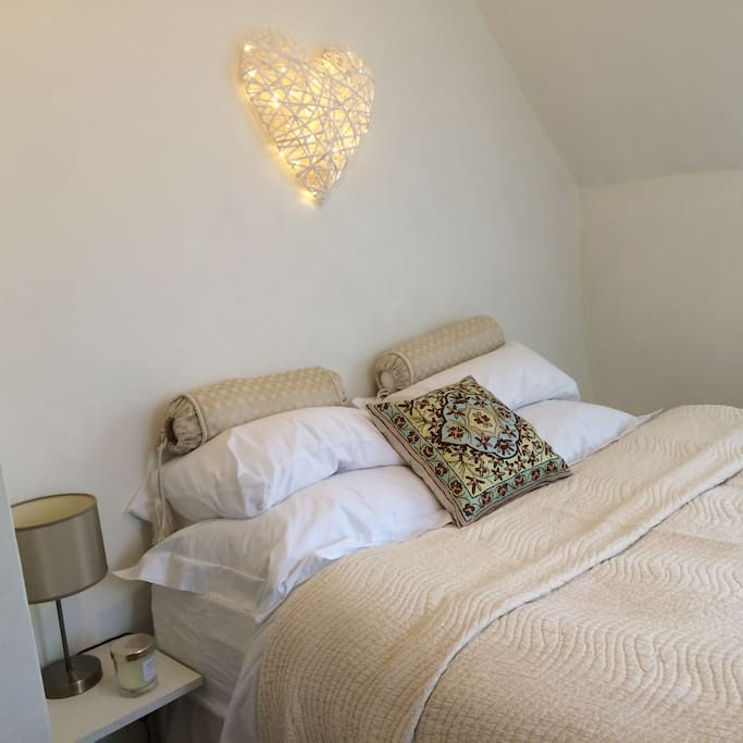 Double room -with lit heart!