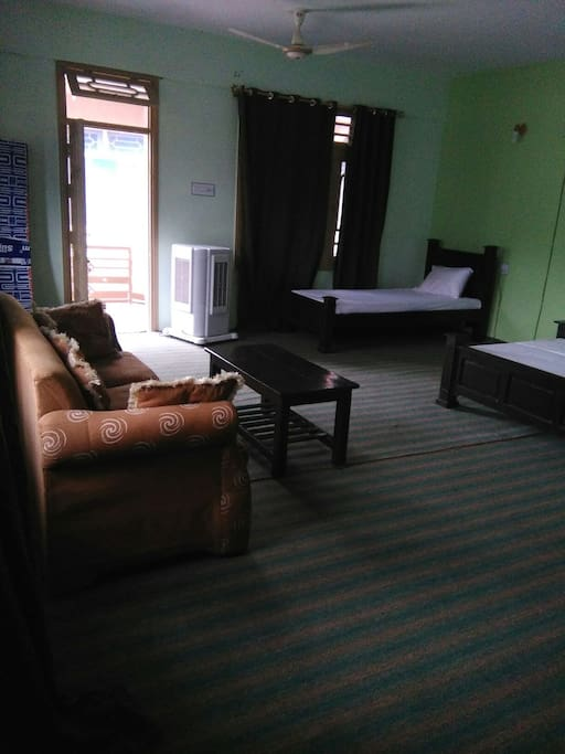 furnished room with all facilities