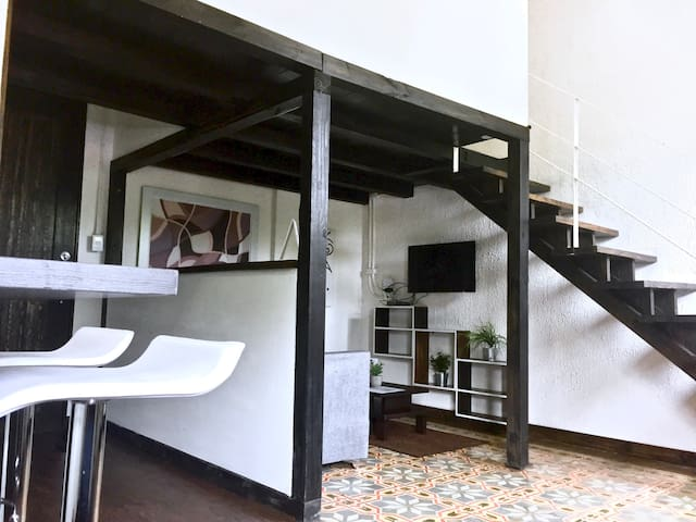 Romantic Loft in the heart of la zona colonial