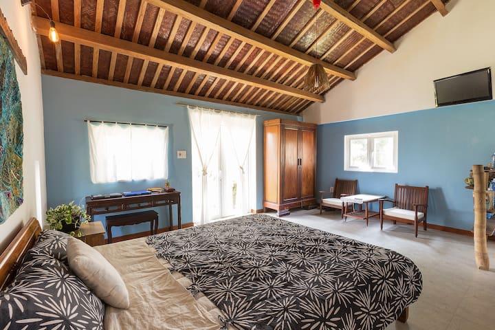 La Terrazza: Blue room