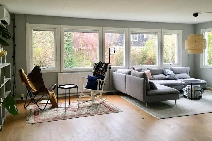 Fullt utrustat hus på perfekt läge i Skanör