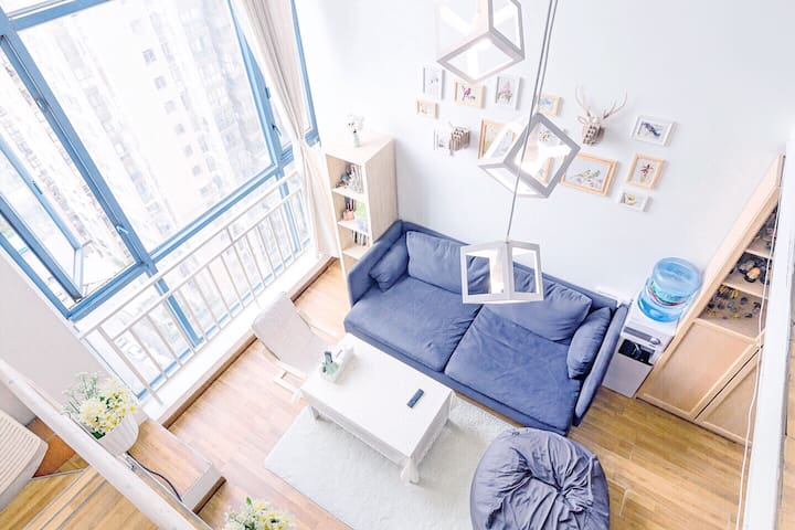 【清兮西舍】北欧清新智能家居单间房间/市中心/宽窄巷子/文殊院