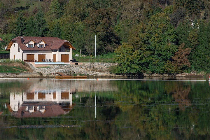 Three Bedroom Villa, in the countryside in Ogulin, Outdoor pool