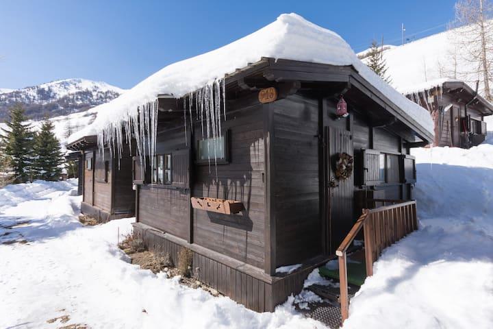 Lo chalet dello sciatore