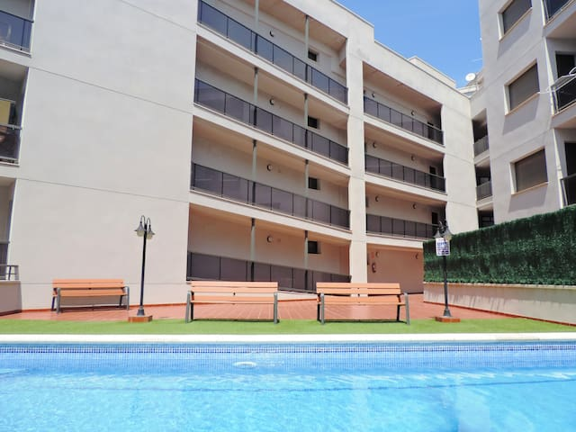 APARTMENT WITH POOL AND CLOSE TO THE BEACH! - L'Ampolla