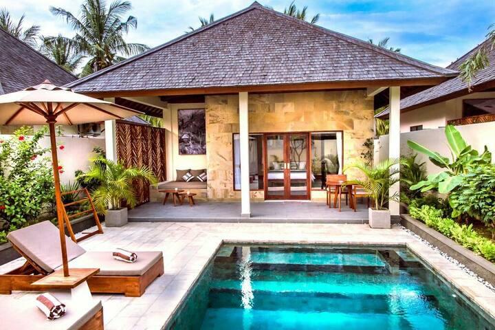 Villa with private pool - Gili Trawangan