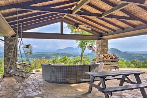 Pet-Friendly Home on 36 Acres w/Stunning Mtn Views