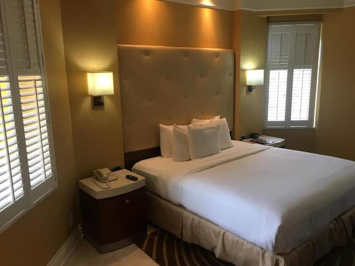 Comfy Room Ocean View Double Bed At Old Town