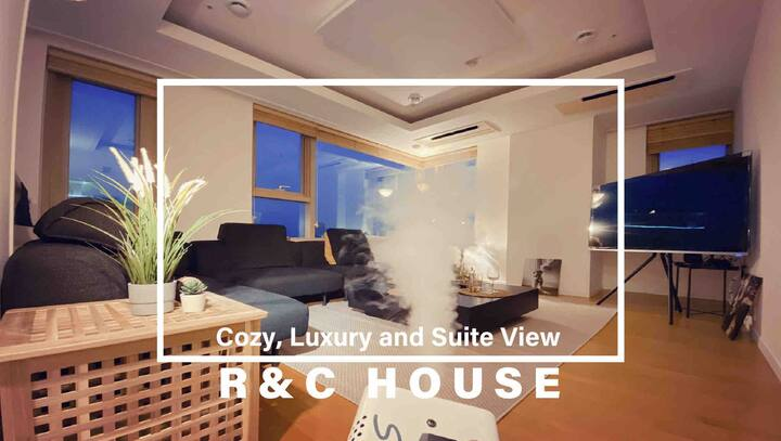 ◑daily disinfection!!◐Luxury Suite View.'R&C HOME'
