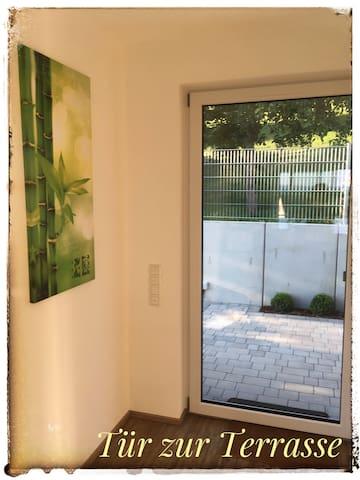 Sonnige FeWo mit Seeblick, barrierefrei + Aufzug