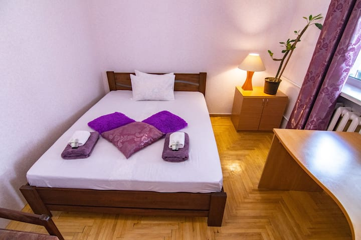 Spacious room on Podil (the old part of Kyiv)