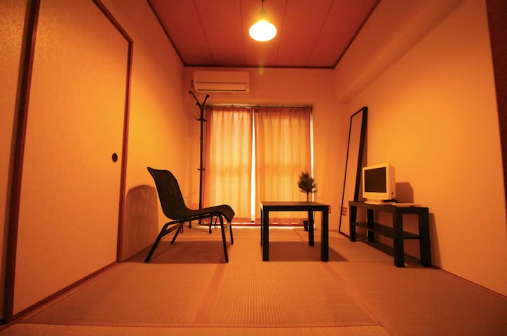 博多天神【BIG St.】Japanese Room  - Fukuoka-shi - Appartement