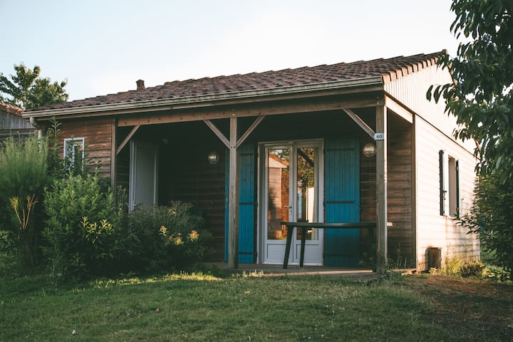 Cottage 2 pers à Pescalis proche Puy du Fou