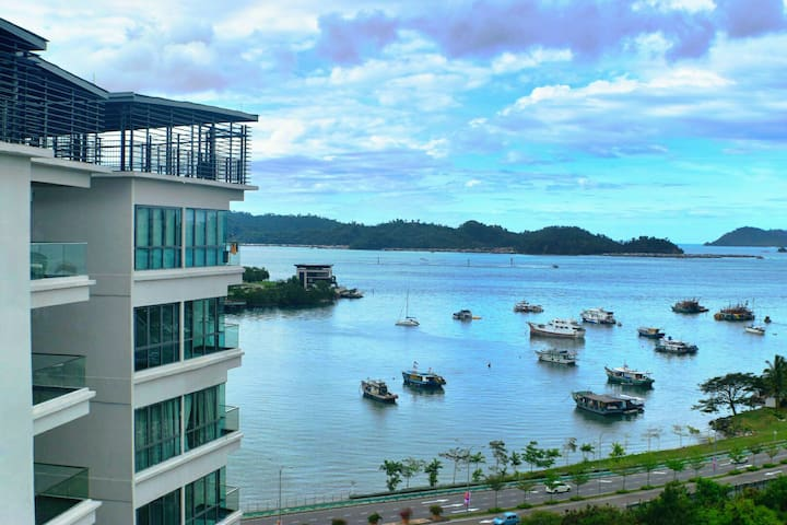 Imago Sea-View 3 Room Luxurious Apartment Yap AB1 - Kota Kinabalu - Appartement