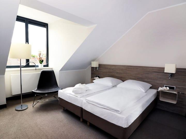 Hotel Schweizer Hof (Kassel) -, Komfort Doppelzimmer mit Dusche/WC