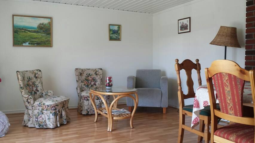 Første etasje i tomannsbolig