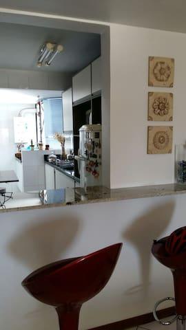 Um quarto aconchegante - Passo Fundo - Apartamento