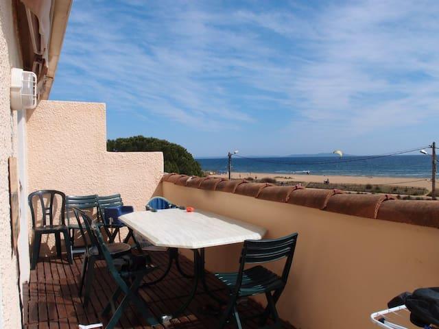 Bel Appartement en bord de mer vue mer - Hyères - Apartamento