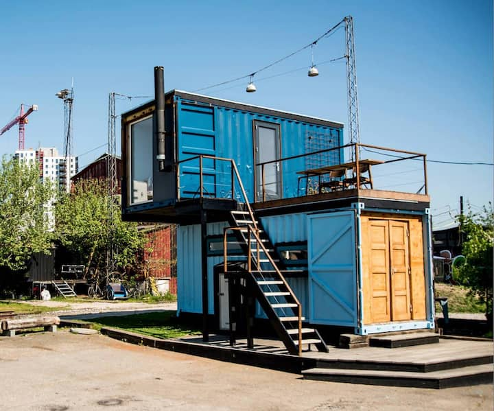 Tiny house in creative community- Institut for X