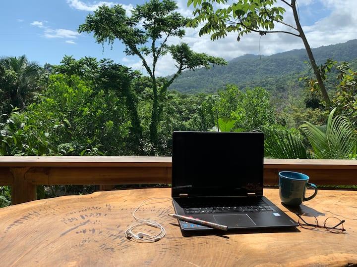 Bambura Cabin 2: Outstanding jungle view in Uvita