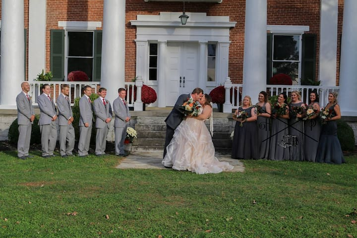 Historic Shelby Manor: Wedding Destination