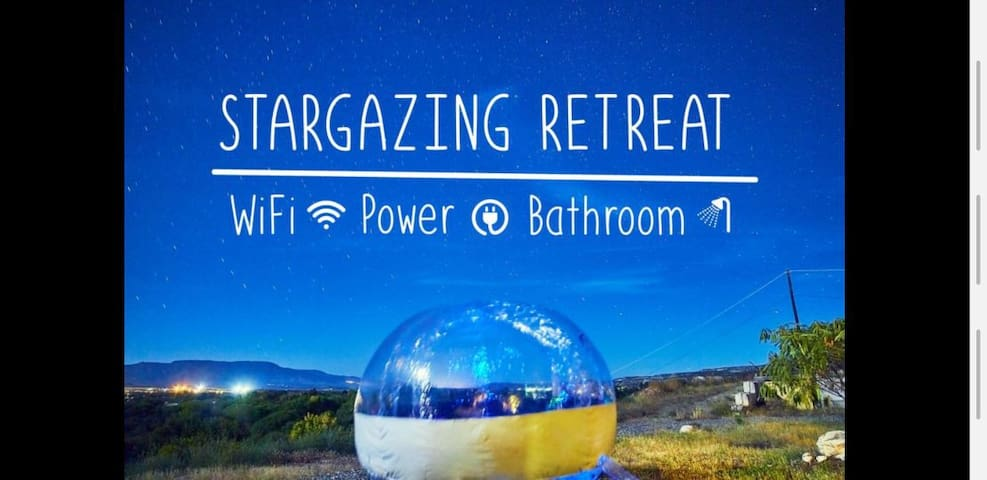 Escape in a Bubble with Private Entry and Bathroom