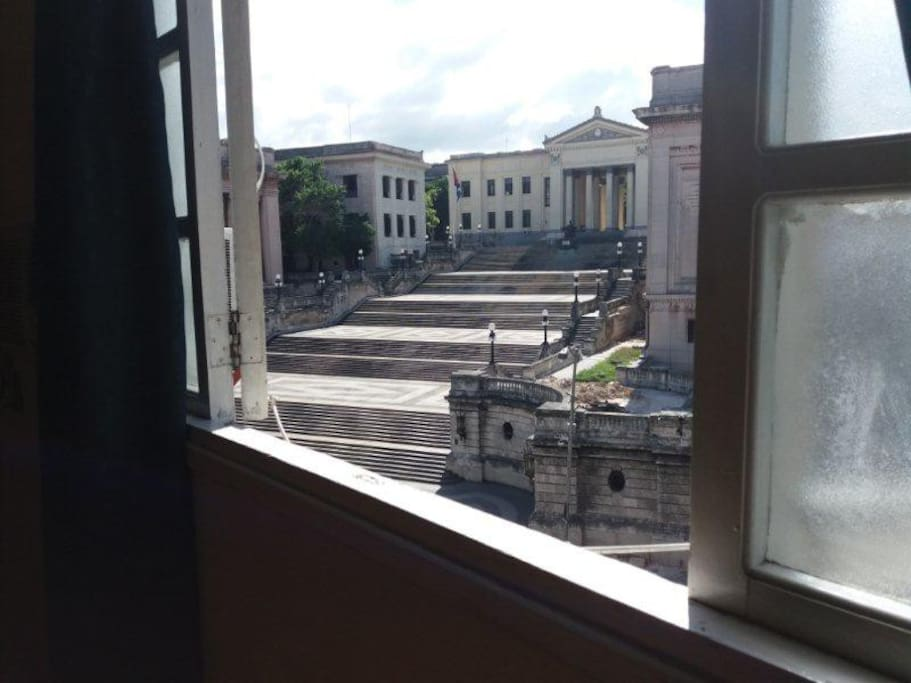 view to Havana University