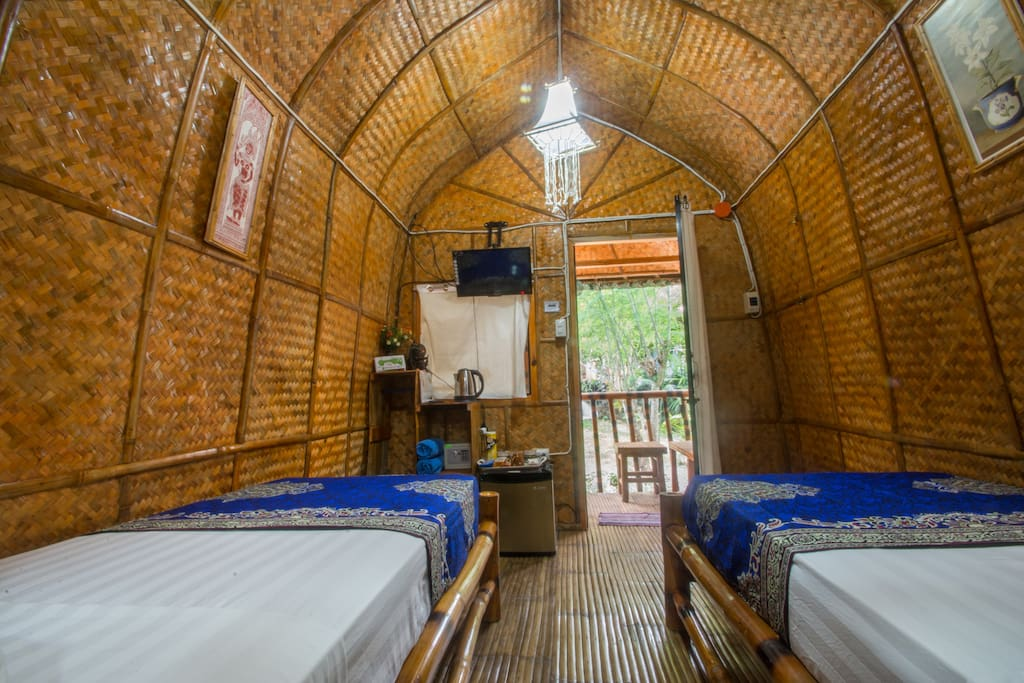 Balinese Twin Hut