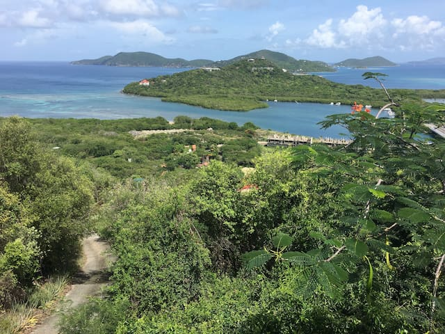 Tortola Dream View Private Master Suite East-End - Dom