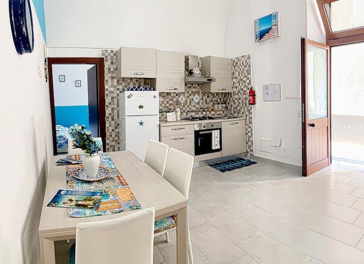 Meta di Sorrento: appartamento vicino al mare